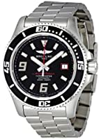 Breitling Men's A1739102/BA76SS Black Dial Superocean 44 Watch by BRIT ARCH OF COUNTRY