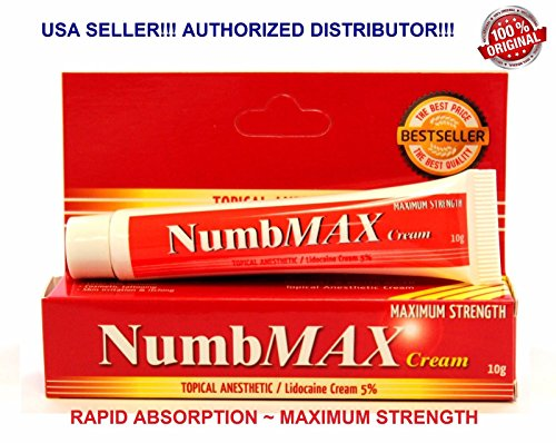 NumbMAX Maximum Strength Topical Anesthetic Cream 10g
