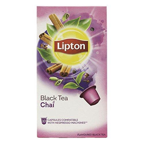 Order LIPTON Black Tea CHAI (Nespresso Compatible TEA Capsules) - 10 caps / box - 60 caps TOTAL from LIPTON - UNIVER