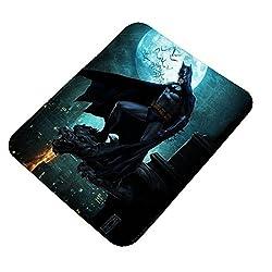 Clapcart Batman Design Printed Rubber Base Mat finish Mouse Pad For PC / Laptop - Multicolor