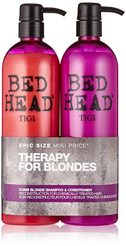 bed-head-by-tigi-dumb-blonde-tween-duo-repair-shampoo-reconstructor-conditioner-for-coloured-hair-2x
