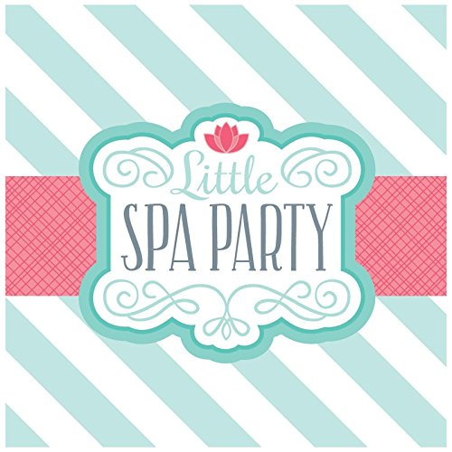 Party Destination 229610 Little Spa Party Lunch Napkins