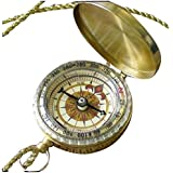 Steampunk Antique Nautical necklace - COMPASS