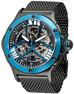 "Stuhrling Original Men's 4ATB.332L951 ""Champion Alpine"" Stainless Steel Automatic Watch"