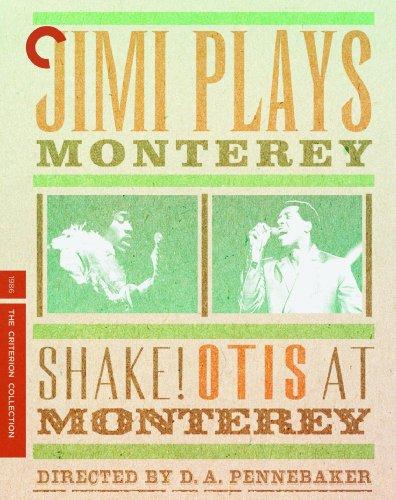 Blu-ray : Jimi Hendrix - Plays Monterey and Shake Otis At Monterey (Full Frame)