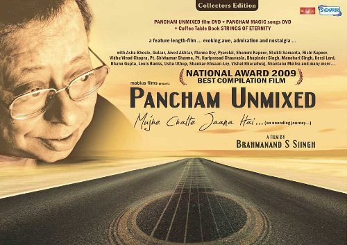 Pancham Unmixed ... Mujhe CHalte Jaana Hai (2 DVD+Coffee Table Book/Hindi Songs/Indian Music)