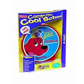 Fisher-Price Fun-2-Learn Computer Cool School Clifford Software