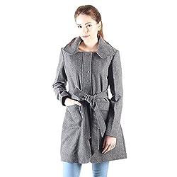 Owncraft grey wool coat for women