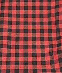 MS Retail Men's Shirt Fabrics (MS Retail_79_Red)