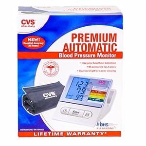 Amazon.com: CVS Premium Automatic Blood Pressure Monitor