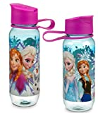 Disney Store Frozen Anna Elsa Olaf WATER BOTTLE for backpack & lunch tote