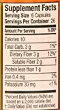 Metamucil Multi Health Fiber Capsules by Meta, 160 Count (Pack of 2)