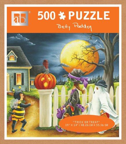 Andrews + Blaine Trick or Treat Puzzle (500-Piece)