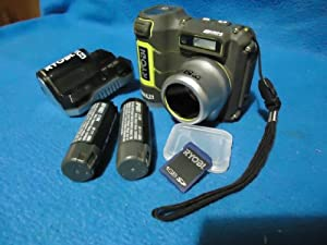 Ryobi Tek4 RP4200 8.0MP Waterproof Construction Grade Camera