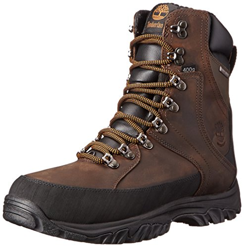 Timberland Men's Thorton 8' WP Insulated  Boot, Dark Brown, 8 M US (Timberland Insulation compare prices)