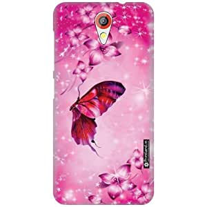 Printland Designer Back Cover for HTC Desire 620G - Butterfly Case Cover