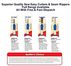 Sew Easy Soft Grip Button Hole Cutter