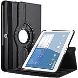 """Housse 360à° Samsung Galaxy Tab 3 - 10.1"""" - P5210 - P5220 en cuir avec support et veille automatique - Starke Mediaà (Noir)"""
