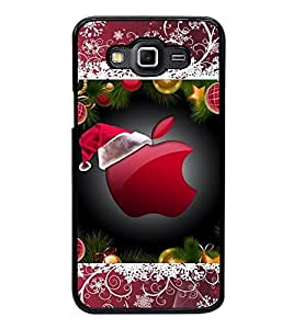 Fuson Premium 2D Back Case Cover Designed apple With pink Background Degined For Samsung Galaxy Grand 3 G720::Samsung Galaxy Grand Max G720