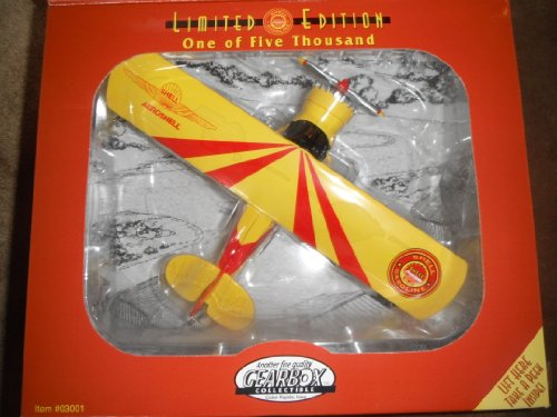 Shell Gasoline Stinson Detroiter Limited Edition Die Cast Coin Bank - 1