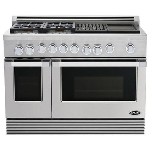 DCS Stainless Steel Freestanding Dual Fuel Range RDU484GGN