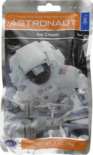 Astronaut Freeze Dried Neapolitan Ice Cream, One Serving Pouch (Freeze Dried Strawberries 10 Can compare prices)