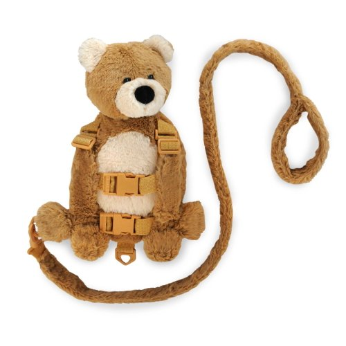 Learn More About Eddie Bauer Harness Buddy, Tan Bear