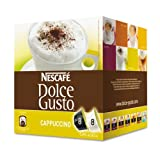 Dolce Gusto - Coffee Capsules, Cappuccino, 2.13 oz., 16 per Box - Sold As 1 Box - Coffee house quality by the cup.