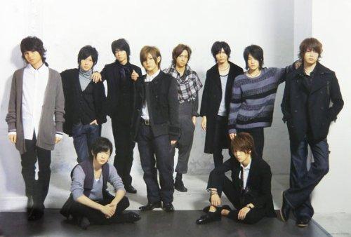 ポスター ★ Hey!Say!JUMP 集合 「Hey! Say! JUMP「ありがとう」〜世界のどこにいても〜 WINTER CONCERT 2010-2011」 A全