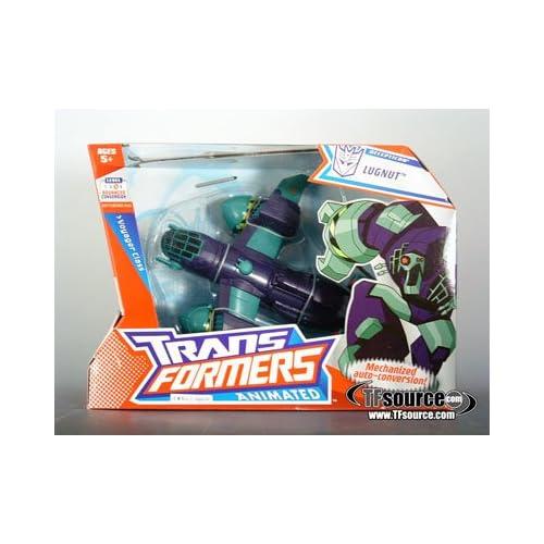 Transformers – Animated – Voyager Class – Decepticon LUGNUT – Mechanized Auto-Conversion! – OVP als Weihnachtsgeschenk