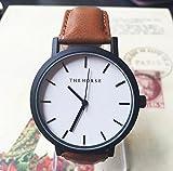 Genießen Armbanduhren Automatik Chronograph Uhr Leder Uhrarmband Business Watch Einfach