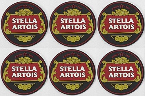 stella-artois-rubber-bar-coasters-spill-mats-set-of-6-new-by-stella-artois