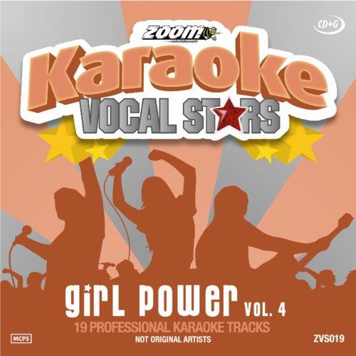 Zoom-Karaoke-CD-G-Girl-Power-Vol-4-Vocal-Stars-Karaoke-Series-19-Card-Wa