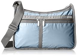 LeSportsac Deluxe Everyday Shoulder Bag, Rain Dance Lightning, One Size