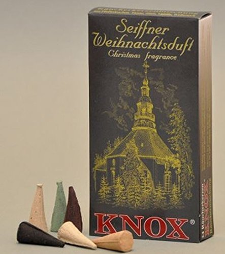 Knox Seiffen German Incense Cones Variety Pack Made Germany Christmas Smokers (Variety Incense Cones compare prices)