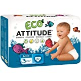 ATTITUDE Diapers - Size 3 - 120 ct