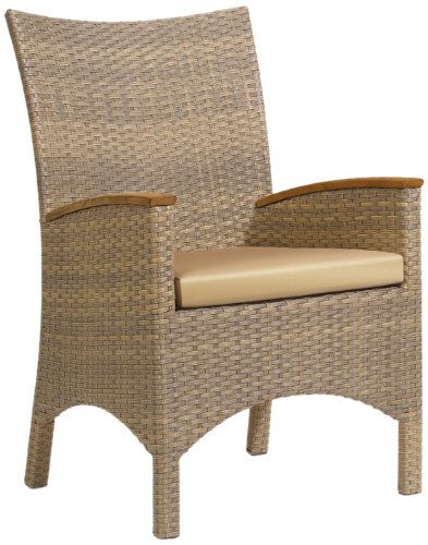 Oxford Garden TBCHA2 Torbay Resin Wicker Armchair, 2-Pack