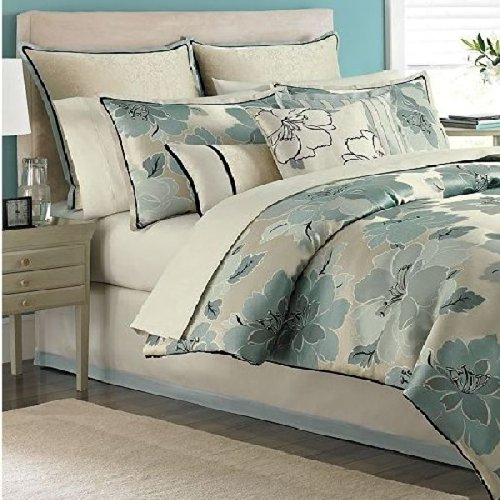 Martha Stewart Garden Retreat 9 piece King Comforter Bed In A Bag...