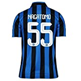 Nike Nagatomo #55 Inter Milan Home Soccer Jersey 2015(Authentic name and number of player)/サッカーユニフォーム インテルナツィオナーレ・ミラノ ホーム用 長友 背番号55 2015 (2X-Large)
