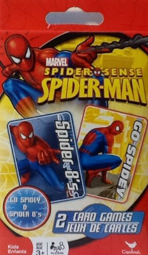 Spider-man - 2 Traditional Card Games - Spider 8's (Crazy Eights) - Go Spidey (Go Fish)