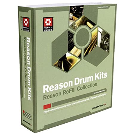 Propellerhead Reason Drum Kits ReFill ( Windows/Macintosh )