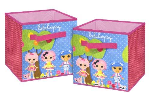 Lalaloopsy Storage Cubes, 2-Pack