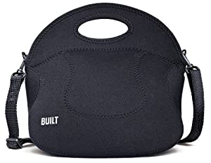 BUILT Neoprene Spicy Relish Lunch Tote, Black