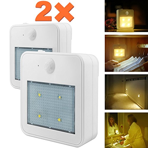 Closet Light Wall Night Lights Eonfine Motion Sensor