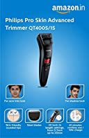 #1: Philips QT4005/15 Pro Skin Advanced Trimmer