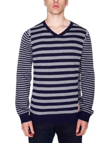 Desigual Vieira Mens Jumper Navy X-Small
