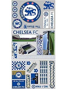 chelsea wall stickers one size only amazon co uk