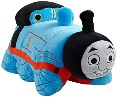 "My Pillow Pets Thomas The Tank Engine - Blue/Red (Licensed) 18"" from My Pillow Pets"