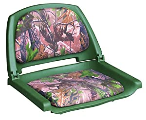 8WD139 Series Molded Fishing Boat Seat with Camoflage Cushion Pads