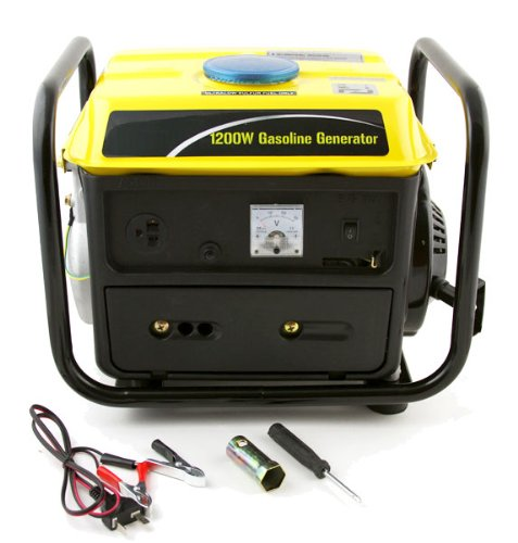 XtremepowerUS 1200 Watt Portable Gasoline Gas Electric Power Generator